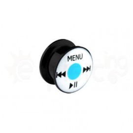 Μαύρο Music Player Tunnel 12mm 10525