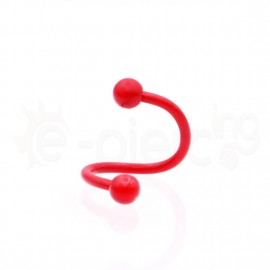 Κόκκινο spiral 1.2x8x3/3mm 14066