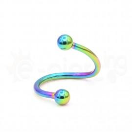Rainbow Spiral 10mm 14067