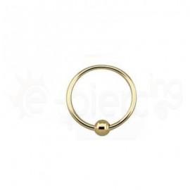 Επίχρυσο Closure Ring 1.6mm 21003