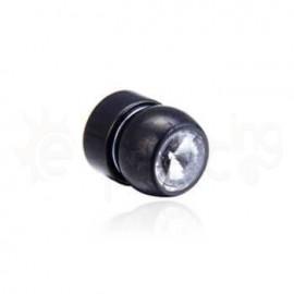 Μαύρη μαγνητική τάπα 6mm 21068