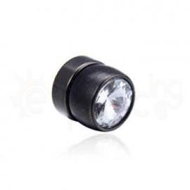 Μαύρη μαγνητική τάπα 8mm 21069