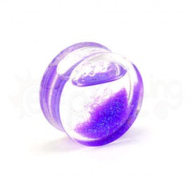 UV plug  με glitter 25mm 50387