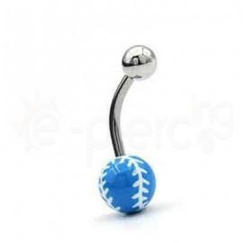 Σκουλαρίκι αφαλού Baseball 50678