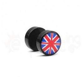 Μαύρη τάπα logo 10mm 50771