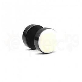 Μαύρη τάπα με σμάλτο 10mm 50783