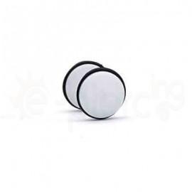 Άσπρη ακρυλική τάπα 8mm 50808