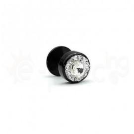 Τάπα με λευκή πέτρα 8mm 50812