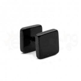 Τετράγωνη μαύρη τάπα Surgical Steel 316L 50831