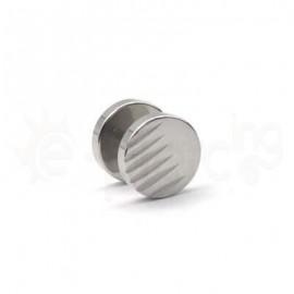 Τάπα διαμανταρισμένη 10mm Surgical steel 316L 50864
