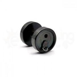 Τάπα κονσέρβα Surgical Steel 316L-black 51220