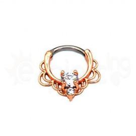Septum Titanium Rose Gold 59563