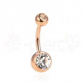 Rose Gold σκουλαρίκι αφαλού 59882