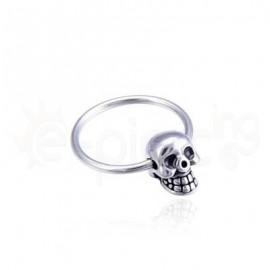 Closure Ring Skull 14mm 59939