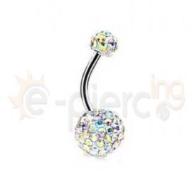 Σκουλαρίκι αφαλού Discoball 10045I