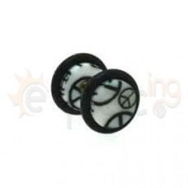 UV Acrylic fake plug 6mm