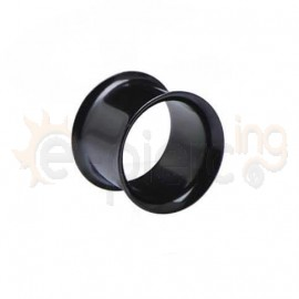 Μαύρο Tunnel διπλό τοίχωμα Surgical Steel 316L