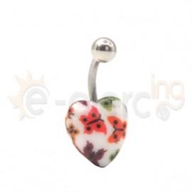 Ακρυλικό σκουλαρίκι αφαλού 11200