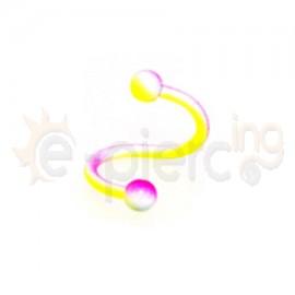 Πολύχρωμο twister 1.2X8X3/3b 14438