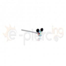 Σκουλαρίκι για τη μύτη από ασήμι 925° 15001