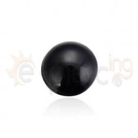 Μαύρη μαγνητική τάπα 8mm 21071