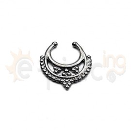Fake Septum μαύρο 50543