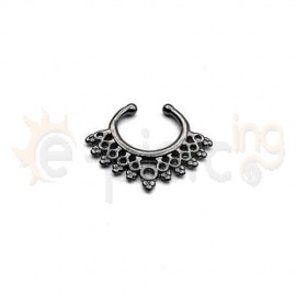 Fake Septum μαύρο 50546