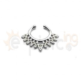 Fake Septum ασημί 50553