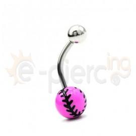 Σκουλαρίκι αφαλού Baseball 50680
