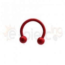 Κόκκινο πέταλο με μπίλιες 50730