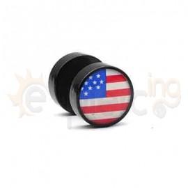 Μαύρη τάπα logo 10mm 50768