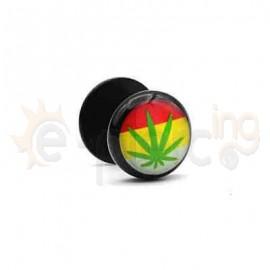 Μαύρη τάπα logo 10mm 50770