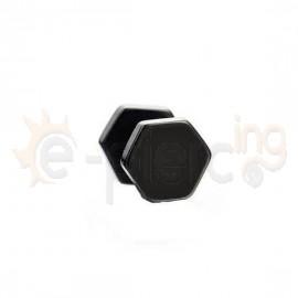 Μαύρη πολύγωνη τάπα 7mm 50834