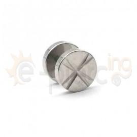 Τάπα διαμανταρισμένη 10mm Surgical steel 316L 50866