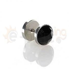 Τάπα με μαύρο κρύσταλλο 10mm 50890