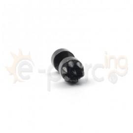 Μαύρη τάπα καρφιά 6mm 50893