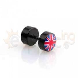 Μαύρη τάπα logo 8mm 50907