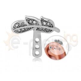 Σκουλαρίκι Helix Surgical Steel 51233