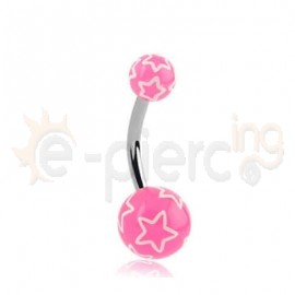 Σκουλαρίκι αφαλού αστέρι 51254