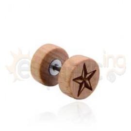 Unisex ξύλινη τάπα 51282