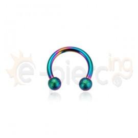 Rainbow πέταλο 8mm 316L 51342