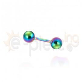 Rainbow μπάρα 8mm 316L 51343