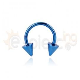 Μπλε πέταλο 316L 51403