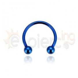 Μπλε πέταλο 10mm 316L 51406