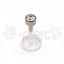 Σκουλαρίκι χειλιού bioflex 3mm 59578W