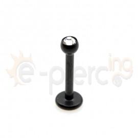 Σκουλαρίκι χειλιού 2.5mm G23 τιτανίου 59717