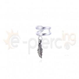 Ασημένιο σκουλαρίκι Helix 60048