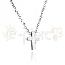 Σταυρός ατσάλι 316L Unisex 720383