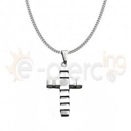 Σταυρός από ανοξείδωτο ατσάλι 760049
